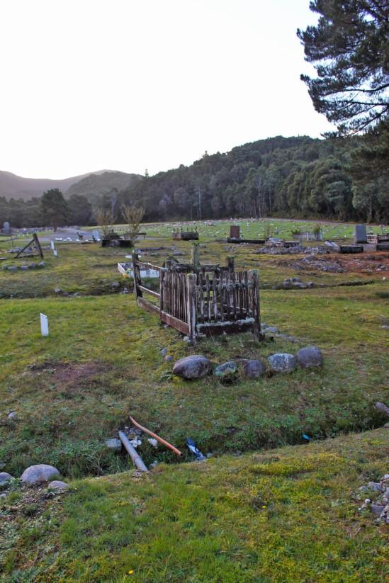Cemetery, Queenstown, Tasmania