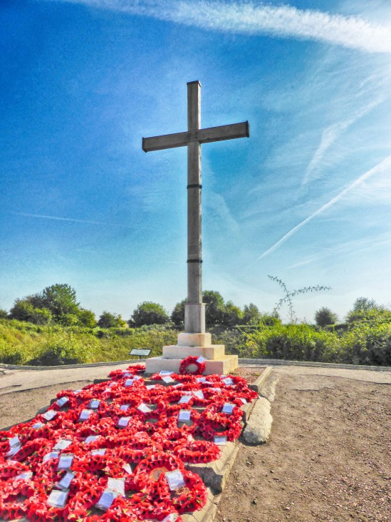 Lochnager Crater Memorial, La Boisselle, Somme, France