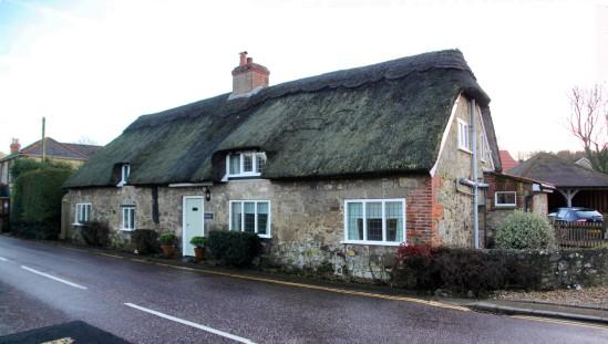 Godshill Village, Isle of Wight, UK