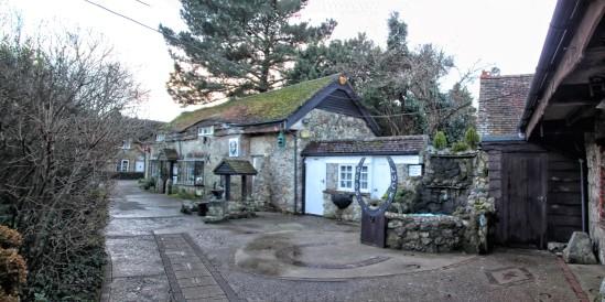The Old Smithy, High Street, Godshil, Isle of Wight, UK