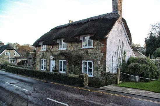 High Street, A3020, Godshill, Isle of Wight, England, UK