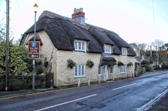 High Street, Godshill, Isle of Wight, UK