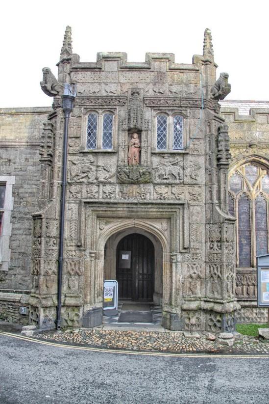 St Mary Magdalene Church, Launceston, Cornwall, England, UK