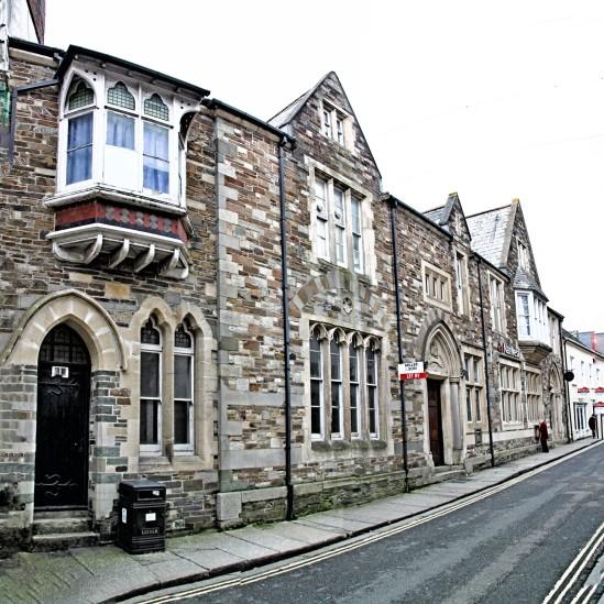 Old Buildings, Westgate Street, Launceston, Cornwall, England, U