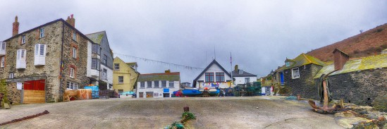 Port Isaac, Cornwall, England, UK
