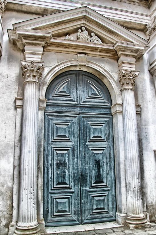 Venetian Doorway, Salizada San Zanipolo, Castello, Venezia, Vene