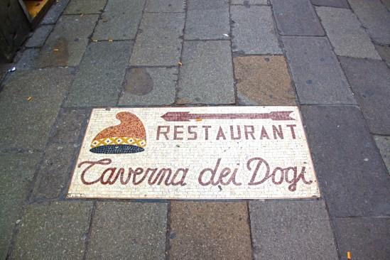 Footpath mosaic for Restaurant