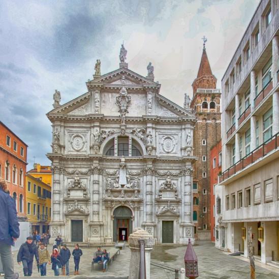 Chiesa di San Moisè c. 1668