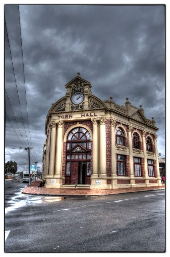 Town Hall, Avon Terrace, York, Western Australia  c. 1911