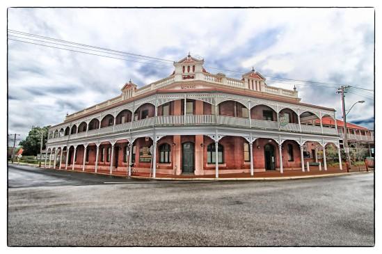 Castle Hotel, Avon Terrace, York, Western Australia  c. 1853
