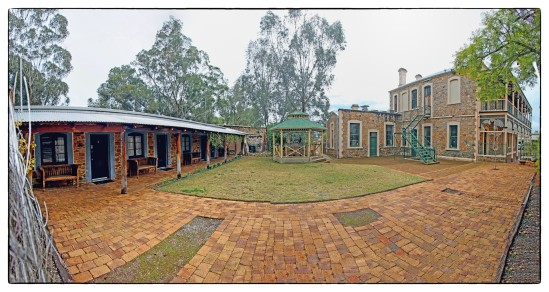 Rear Courtyard, Imperial Hotel, Joaquina Street, York, Western A