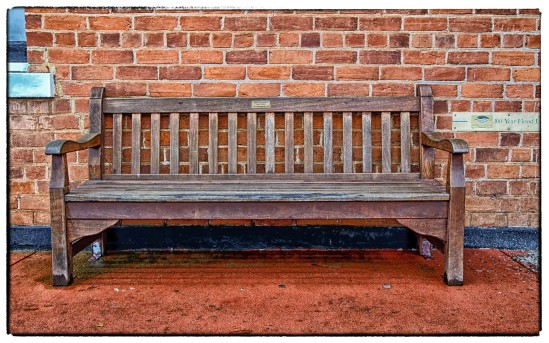Memorial Bench, Avon Terrace, York, Western Australia
