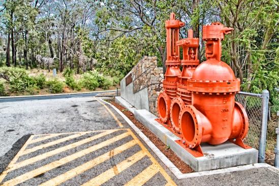 Pump Art, Mundaring Weir, Mundaring Weir Road, Mundaring, Western Australia