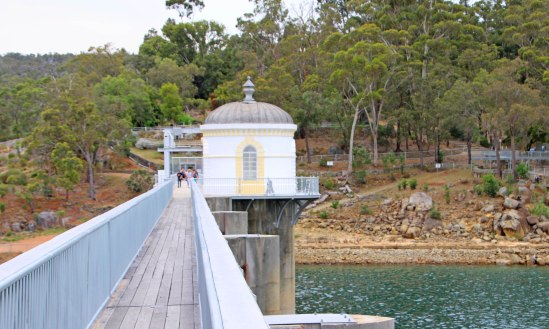Mundaring Weir Wall & Resevoir, Mundaring, Western Australia