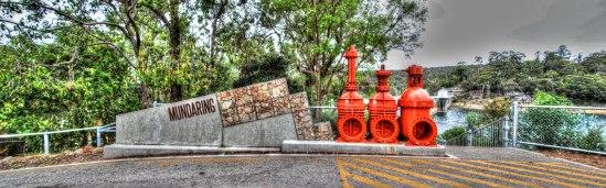 Car Park Art, Mundaring Weir Road, Mundaring, Western Australia