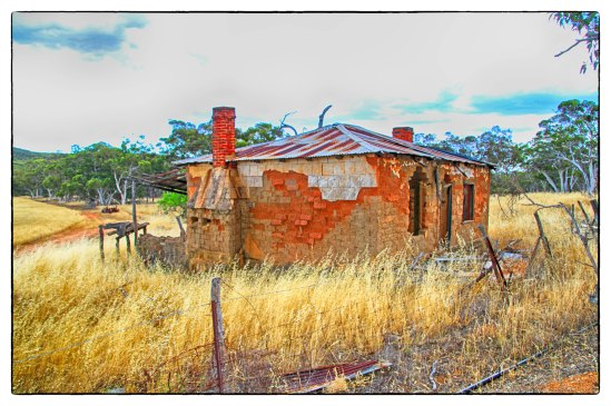 Abandoned Farm House, Bindoon-Moora Road, Gillingarra, Western A