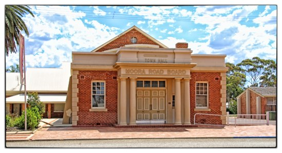 Town Hall-Moora Road Board