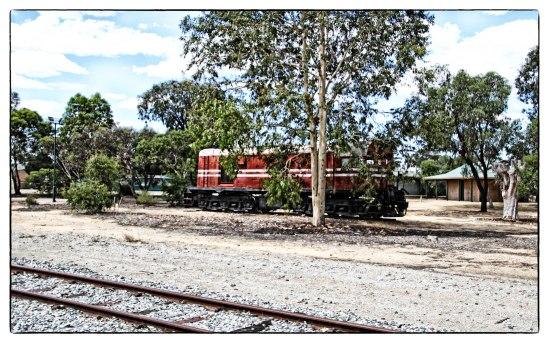 Derelict Diesel Locomotive