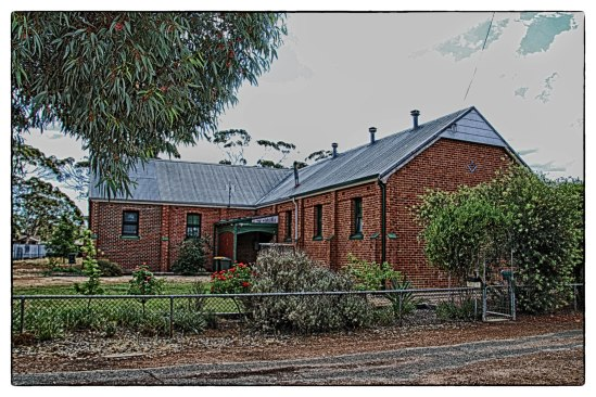 Masonic Lodge, Gardiner Street, Moora Now a private residence.