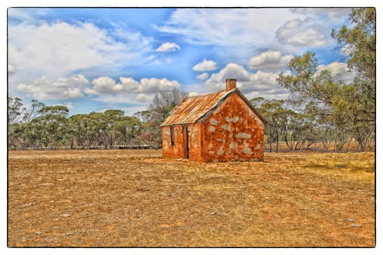 Derelict Ruins, Great Northern Highway, Yarawinda, Western Australia