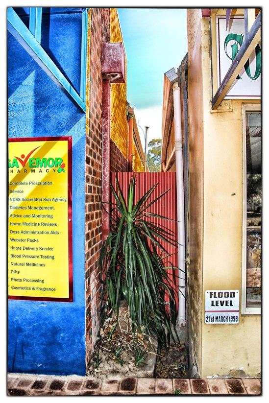 Laneway, Dandaragan Street, Moora, Western Australia