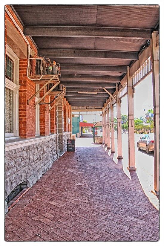 Footpath, The Drover's Inn, Cnr Padbury & Dandaragan Streets, Moora, Western Australia