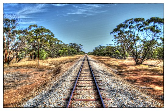 Southbound Line, Gillingarra, Western Australia